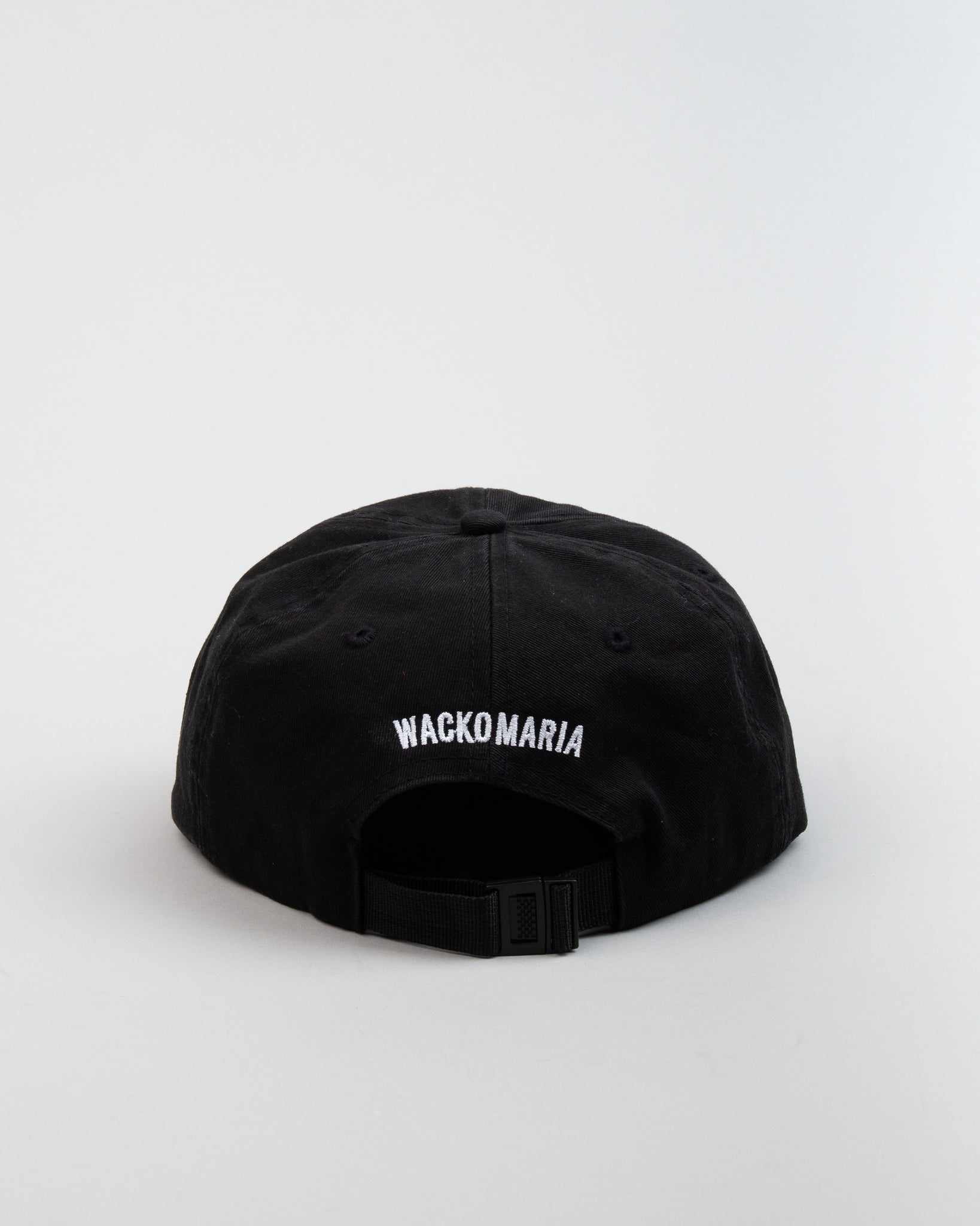 6-Panel Cap (TYPE-2) Black