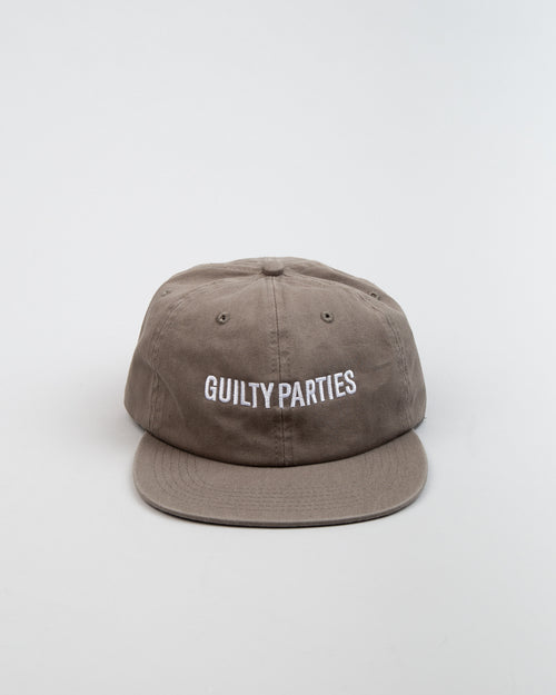 6-Panel Cap (TYPE-2) Khaki 1