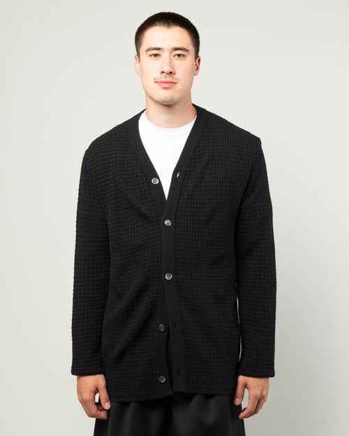 Wool Cardigan Black 1