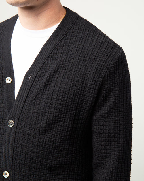 Wool Cardigan Black 2