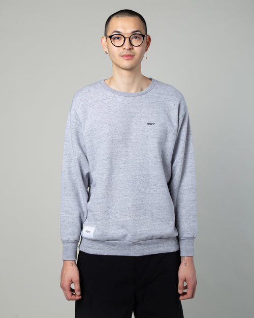 Blank Crewneck Sweatshirt Grey 1