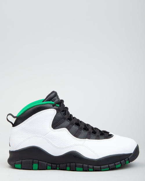 Air Jordan 10 Retro White/Black/Court Green 1