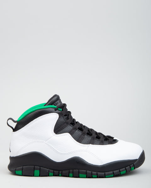 Air Jordan 10 Retro White/Black/Court Green