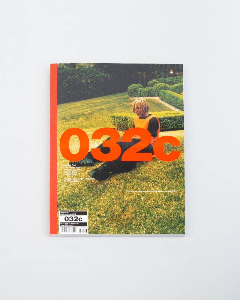 "032c Issue 36: Summer 2019 ""Working out Loud"""