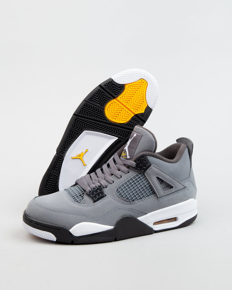 more photos 979cf 62031 Air Jordan 4 Retro Cool Grey/Chrome/Dark Charcoal
