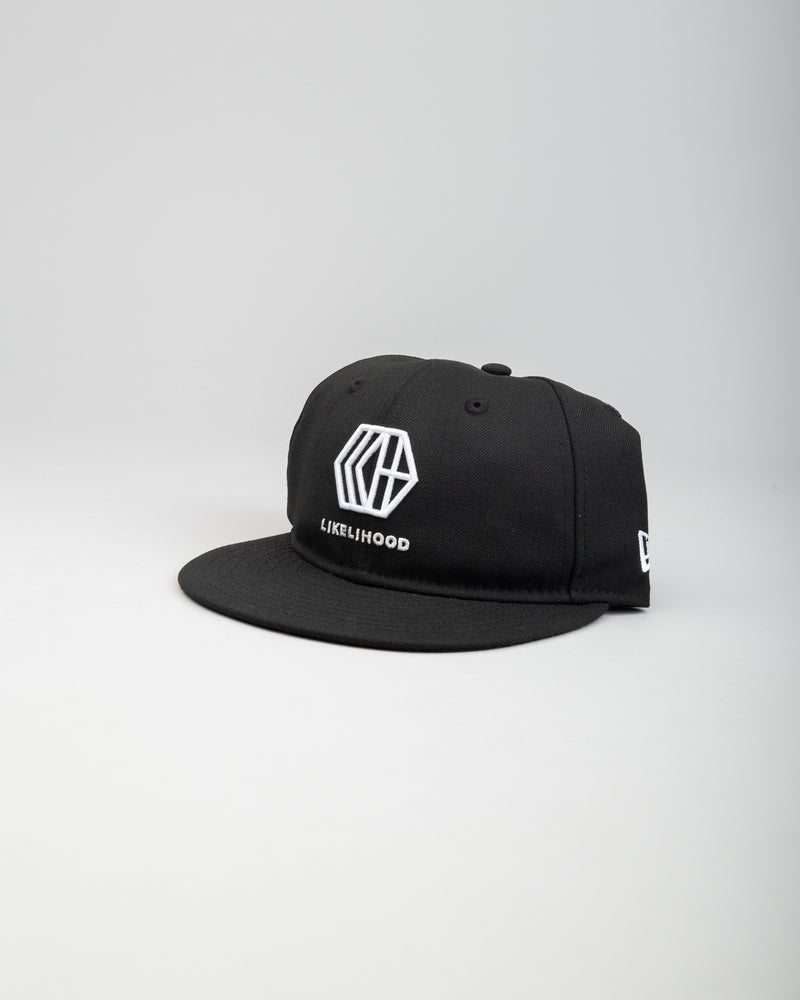 New Era Logo Strapback Hat