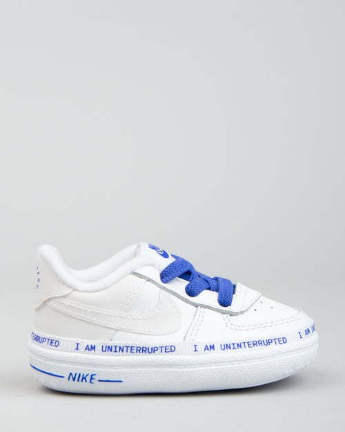 Air Force 1 '07 (CRIB) MTAA QS White/Black/Racer Blue 1