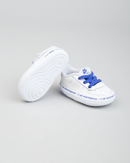 Air Force 1 '07 (CRIB) MTAA QS White/Black/Racer Blue 2