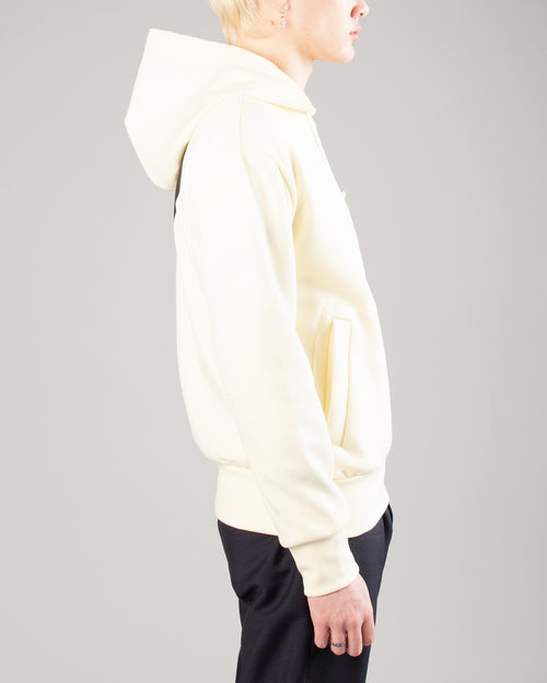 PLAY Big Heart Zip Hoodie Ivory 2