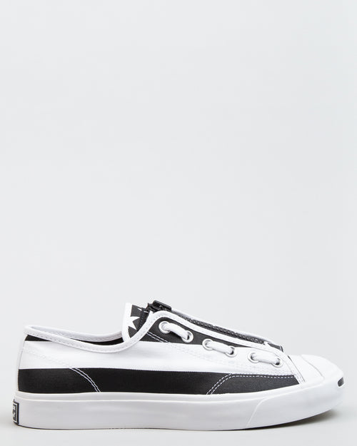 TAKAHIROMIYASHITA The Soloist Jack Purcell Zip OX White/Black 1