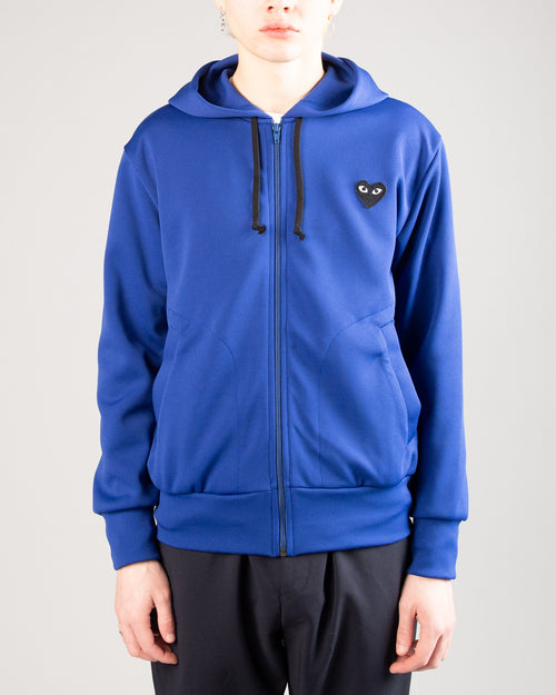 PLAY Big Heart Zip Hoodie Blue 1