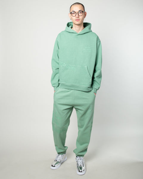 Tonal Type Print Sweatpant Putty