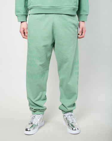 Tonal Type Print Sweatpant Putty 1