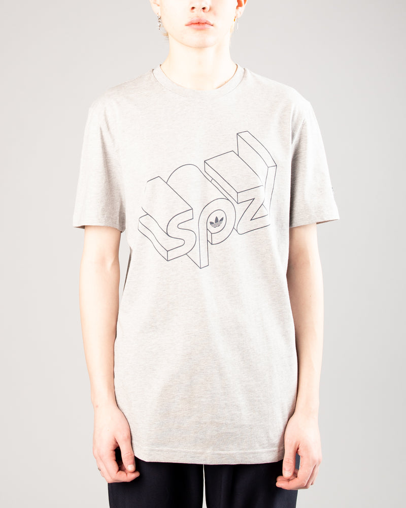 Wireframe SS Tee Medium Grey