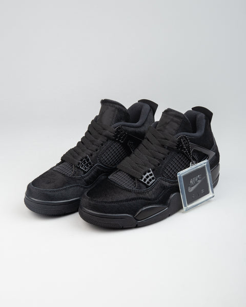 WMNS Air Jordan 4 Retro Black/Black/Black