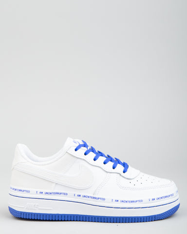 Air Force 1 (PS) MTAA White/Black/Racer Blue