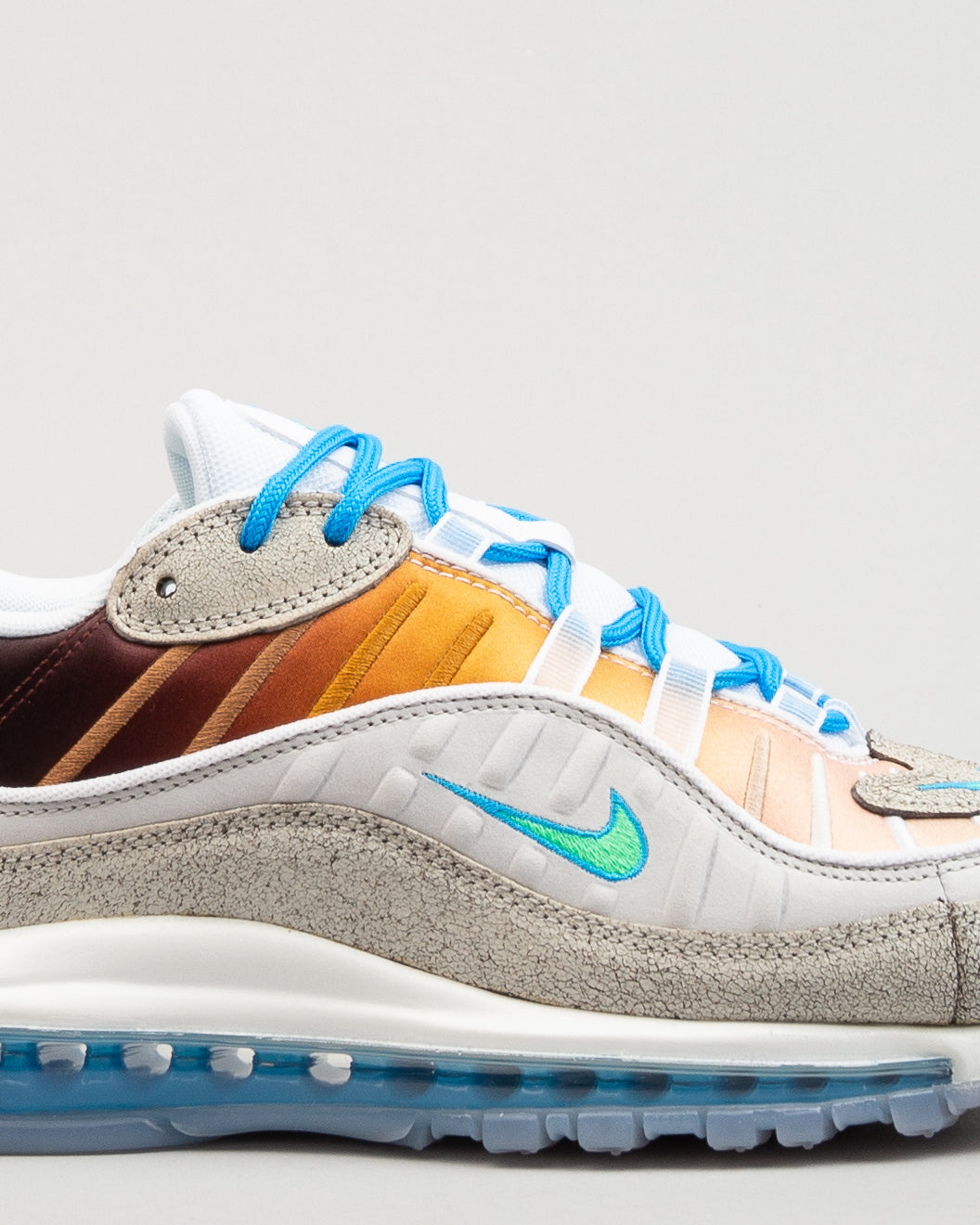 "Air Max 98 OA GS ""La Mezcla"" Vast Grey/Electro Green/Blue Hero"