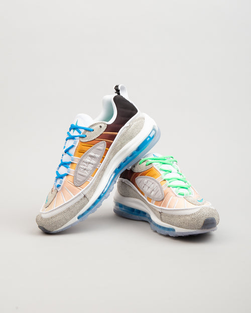 "Air Max 98 OA GS ""La Mezcla"" Vast Grey/Electro Green/Blue Hero 2"
