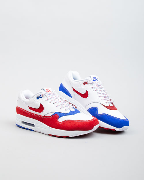 Air Max 1 Premium White/Gym Red/Racer Blue 2