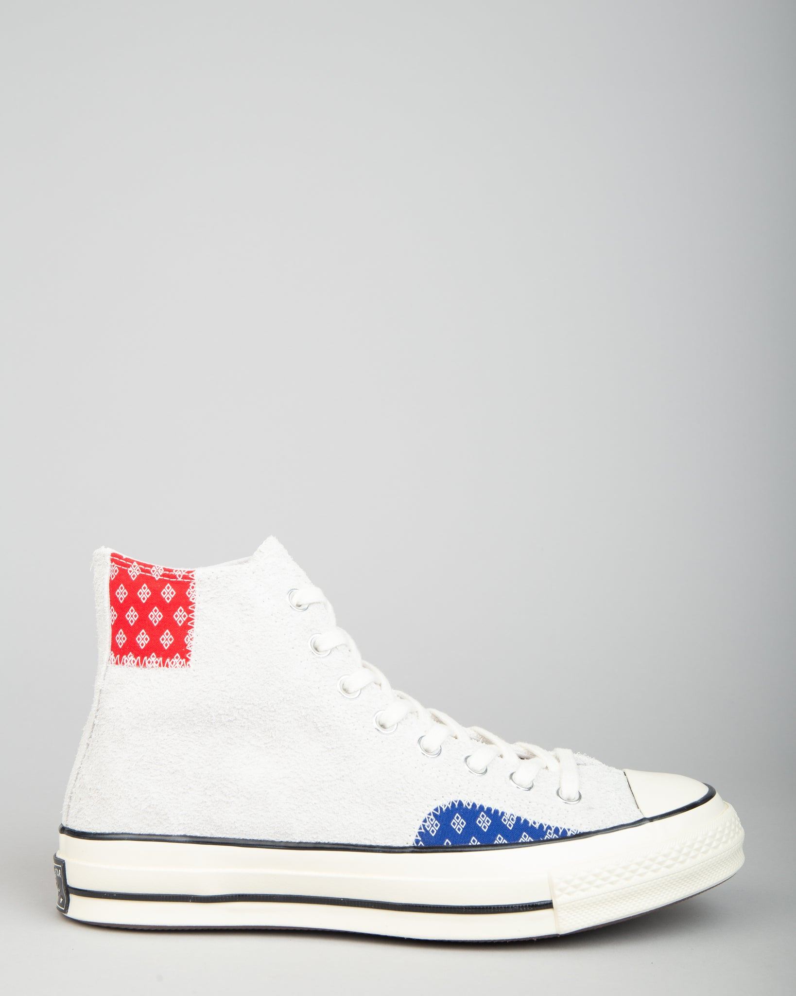 Chuck 70 HI Patchwork Photon Dust/Rush Blue