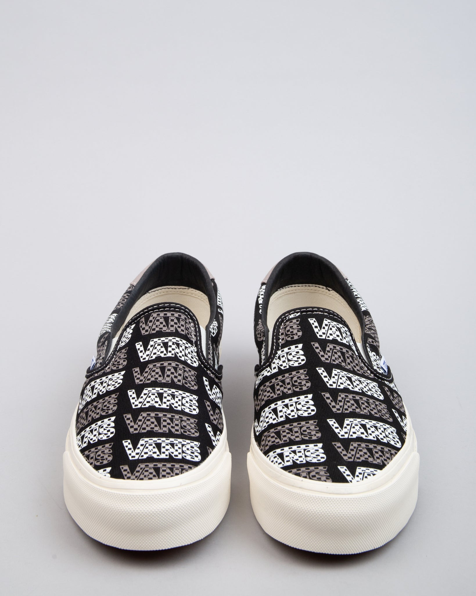 OG Slip-On 59 LX Black/Logo Checkerboard