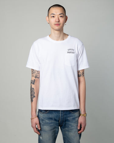 Oversize Pocket T-Shirt (Type-5) White 1