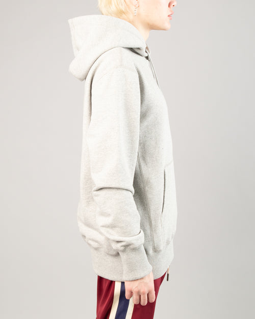 Logo Hoodie Heather Grey 2