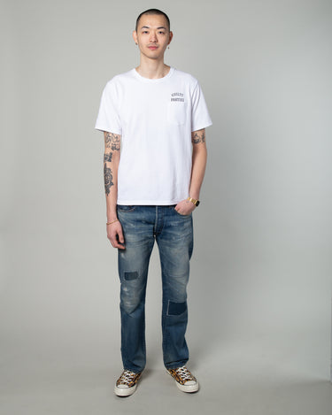 Oversize Pocket T-Shirt (Type-5) White 2