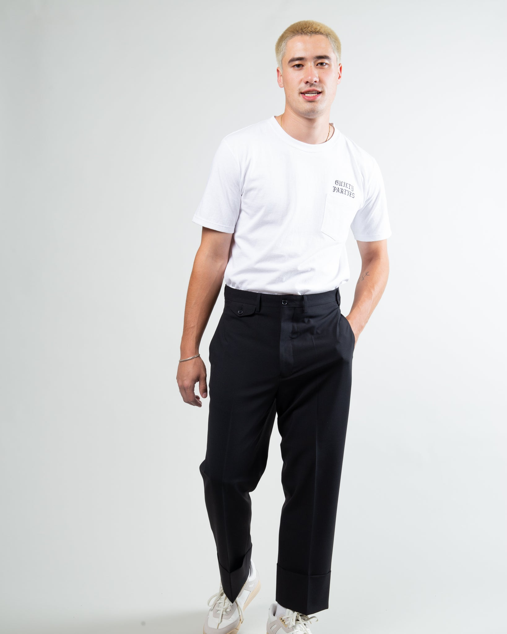Coaches Pants Black