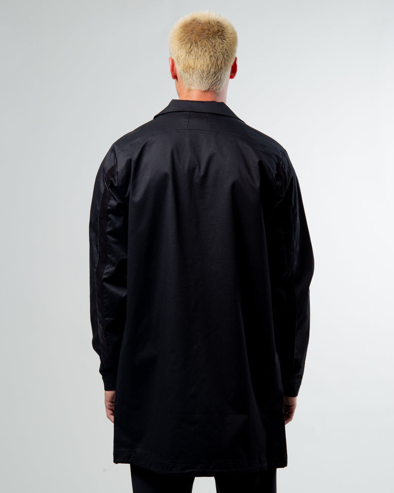 RHUDE Coat Black