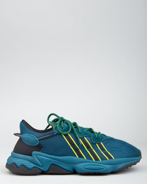 Pusha T Ozweego Tech Mineral/Dark Green/Semi Solar Yellow