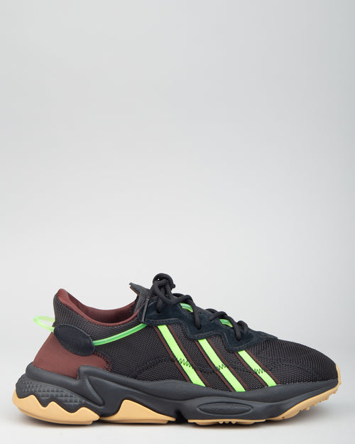 Pusha T Ozweego Black/Mystery Brown/Solar Green 1