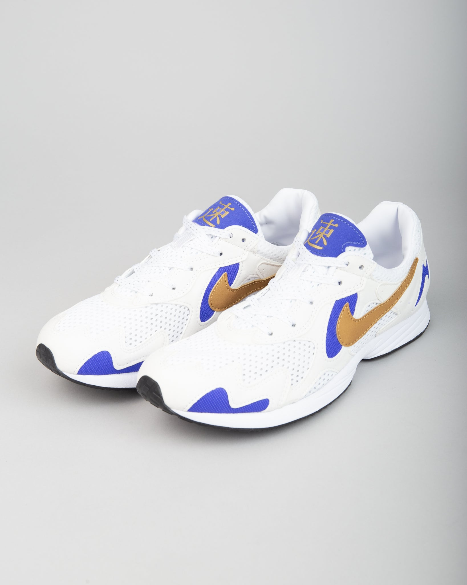 Air Streak Lite Summit White/Metallic Gold