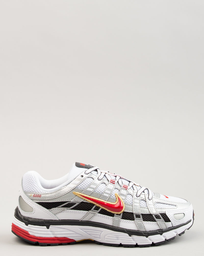 W P-6000 White/Varsity Red/Metallic Platinum