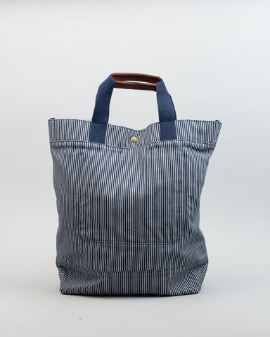 Hickory Stripe Tote Bag