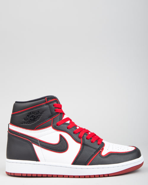 Air Jordan 1 Retro High OG Black/Gym Red/White 1