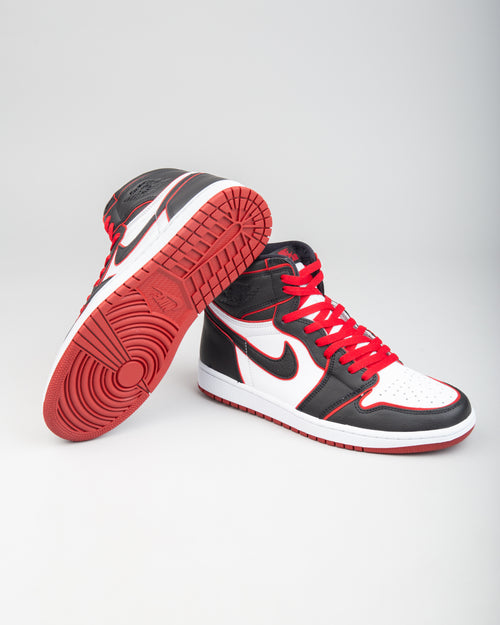 Air Jordan 1 Retro High OG Black/Gym Red/White 2