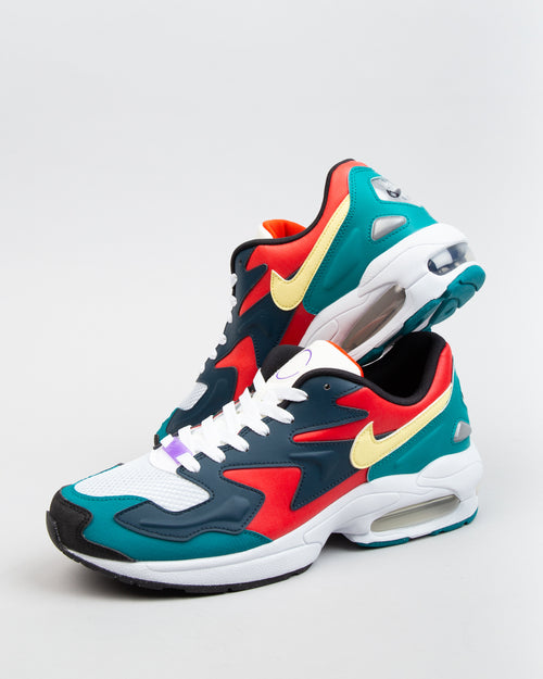 Air Max2 Light Habanero Red/Armory Navy/Radiant Emerald 2