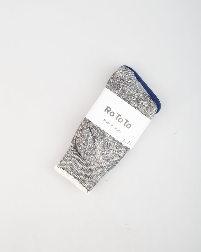 "Double Face ""Merino Wool & Organic Cotton"" Socks"