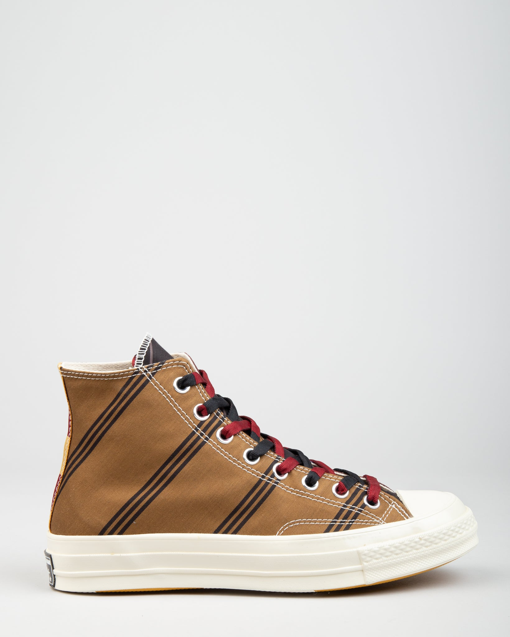 Chuck 70 HI Tan/Burgundy/Black
