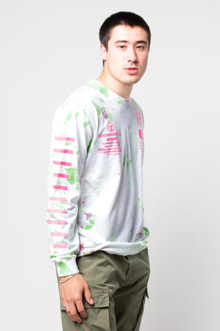 Dye Crew Sweat White