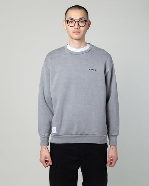 College Crewneck 02 Sweatshirt Grey 1