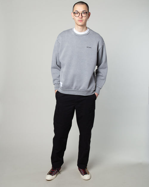 College Crewneck 02 Sweatshirt Grey 2