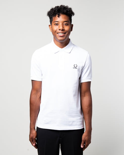 Raf Simons Laurel Detail Polo White 1