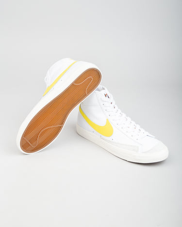 Blazer Mid '77 Vintage White/Optical Yellow 2
