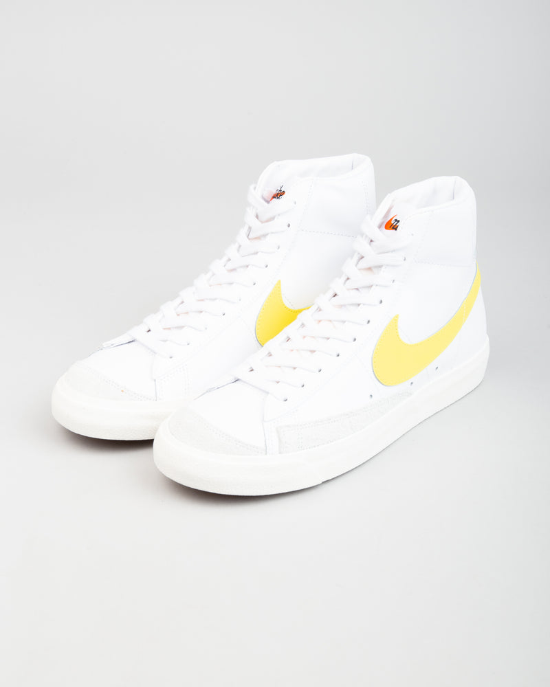 Blazer Mid '77 Vintage White/Optical Yellow