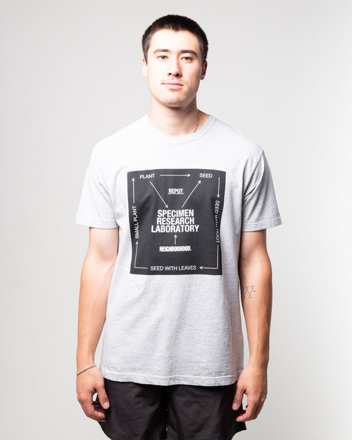 SRL Roots SS Tee Grey 1