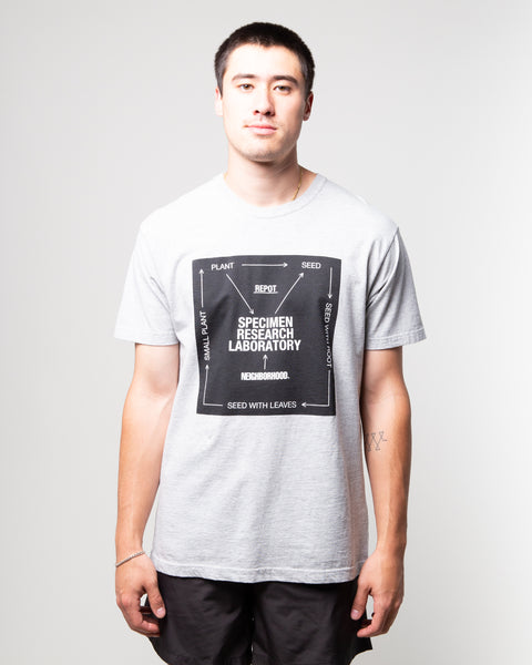 SRL Roots SS Tee Grey