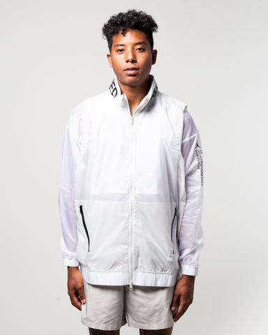 23 Engineered Full-Zip Jacket White/Light Bone/Black