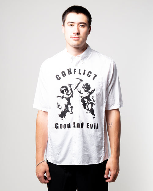 Conflict SS Shirt White 1